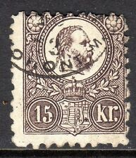 Hungary - 1871 Definitive Franz Josef - Mi. 12a VFU (5)