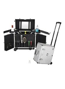 Clipper Trimmer Portable Mobile Barber Station Tool Box Makeup