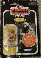 "Star Wars Retro Collection Figure The Empire Strikes Back - Yoda  3.75"" Vintage"