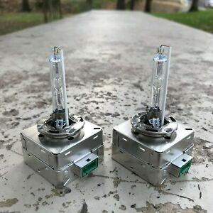 5500K D3S HID Bulbs Set For OEM Chrysler Dodge Jeep D3S Xenon Headlight Bulb