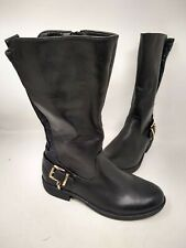 NEW! Skechers Youth Girl's Mad Dash Lilly Belle Zip Up Boots Blk#87783L 201S cc