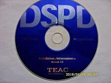 """TEAC"" DSPD-Installations & Informations-CD Ver.1.0 für CD/DVD-Brenner/Player.."
