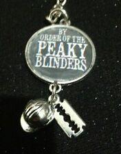 Peaky Blinders inspired hand made keyring. Free organza gift bag.