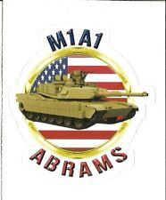 M1A1 ABRAMS TANK   Sticker Decal