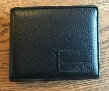 Calvin Klein Jeans Leather Credit Card & ID Wallet - Black - CW106-PES00-999-0