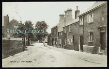 c.1920 Main Street Rearsby Leicestershire Postcard C916