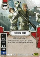 2x Survival Gear x2 Star Wars: Destiny with Dice Rare