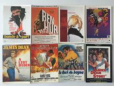 Lot  8  Cartes Postales   AFFICHES  DE  FILMS  ANCIENS