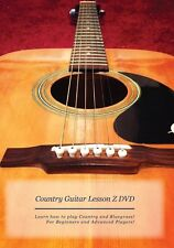 Country Guitar Lesson Z DVD: Learn to play Country/Bluegrass +Plus bonus items!