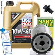 Ölwechsel Set 5L 10W-40 Öl Motoröl LIQUI MOLY + MANN Ölfilter