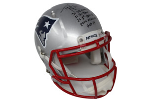 Ty Law New England Patriots Signed Full Size Authentic Speed Multi-Insc Helmet