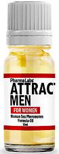 The Secret to ATTRACT MEN Phermalabs Human Pheromones **Oil PERFUME (10ml) #025