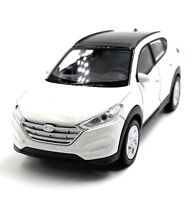 Hyundai Tucson SUV White Model Car Scale 1:3 4 (Licensed)