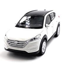 Hyundai Tucson SUV Modellino Auto Bianca Auto Scala 1:3 4 (Licenza)