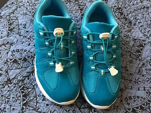 Turquoise Trainers Size 5 EEE