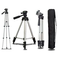 Universal Mini Portable Aluminum Tripod Stand & Bag For Canon Nikon Camera  #G