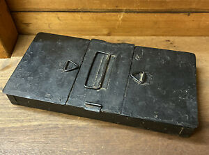Vintage Handy Metal Storage Tin Tool Box Fishing Box Tackle