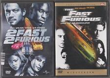 The Fast and the Furious Vin Diesel, Paul Walker + 2 Fast 2 Furious Sammlung DVD