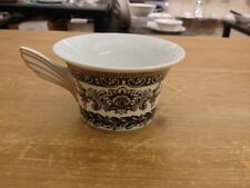 VERSACE BY ROSENTHAL,GERMANY  Marqueterie black and white  Low Tea Cup - NIB