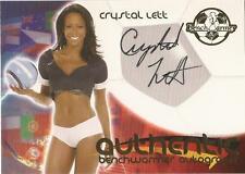 "Benchwarmer 2006 World Cup -  #8 of 30 ""Crystal Lett"" Autograph Card"