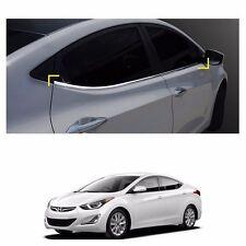 Chrome Window Under Line Molding Trim for Hyundai Elantra 2011-2015