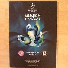 Prg. CL EC 11/12 Programm CL Finale 2012 München Bayern München - Chelsea rar.