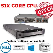 Dell PowerEdge R710 2 x L5640 2.26GHz Six core 72GB of RAM Perc6i Raid Card