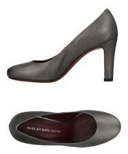 Marc By Marc Jacobs Women Shoes Size 41 NIB Silver Leather Pumps