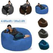 Bean Bag Chair Gaming Comfort Kids Teens Adults Dorm Sofa Lounger Easy Storage