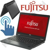 "Fujitsu LifeBook P727 12.5"" TOUCHSCREEN Intel i7-7600U 8GB 512GB SSD Win10 PRO"