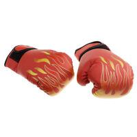 Gants De Boxe Respirants Mitaines De Boxe D'entraînement En Cuir PU De Muay