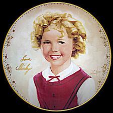 Shirley Temple Americas Sweetheart Plate Danbury Mint Donald Zolan