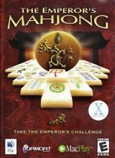 The Emperor's Mahjong MAC CD match 72 unique layouts matching puzzle board game!