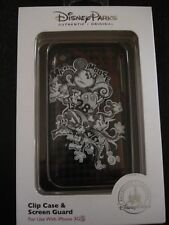 Disney Parks 1928 Mickey Mouse Cover Clip Case & Screen Guard iPhone 3G 3GS-NIB