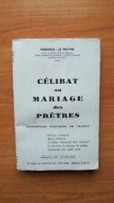 CELIBAT OU MARIAGE DES PRETRES