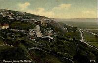 Harlech Gwynedd England AK ~1910 Cardigan Bay Panorama Landschaft Landscape