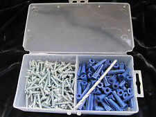 10 CONICAL ANCHOR KITS 100 3/16X7/8(8-10)ANCHORS 100 #6X1 SCSREW,DRILL FAST SHIP