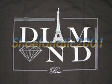 Diamond Supply Paris Eiffel Tower Large L Un-Polo Black Brillant Jasper VVS