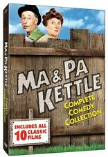 MA AND PA KETTLE DVD COMPLETE COLLECTION 10 MOVIE BOX SET R1 NEW Adventures of &