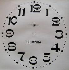 cadran papier autocollant pour horloge, comtoise, création, chiffres arabes