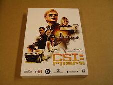 3-DISC DVD BOX / CSI:MIAMI - SEIZOEN 6 - AFLEVERING 6.1 - 6.11