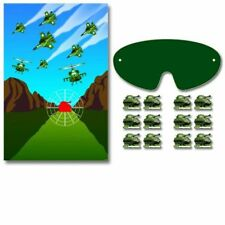 Camouflage Military Army Greens Party Supplies Party Game for 2-12 Players