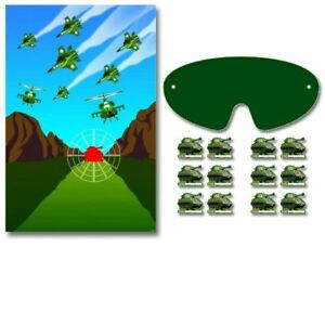 Camouflage Party Game for 2-12 Players - Camouflage Party Supplies