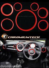 MK2 MINICOOPER / S / ONE R55 CLUBMAN R56 Hatch R57 CABRIO RED Interior Kit Anello