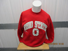 VINTAGE RUSSELL ATHLETIC OHIO STATE/OSU BUCKEYES MEDIUM RED SWEATSHIRT 90S