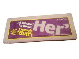 Chamois Butt'r Her' Anri Chaffing 0.24 fl. oz Bag of 20 pcs