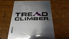 Bowflex TreadClimber TC1000 TC3000 TC5000 Drive Decal Sticker Silver