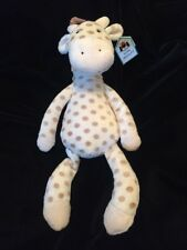 Jellycat Georgie Giraffe Plush Soft Toy Cream Beige Comforter Stuffed New 11""