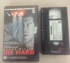 Die Hard VHS - Big Box Ex-rental