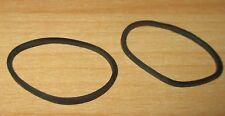 Lego tecnología 2 X de goma de aprox. 3 cm diámetro en negro